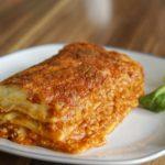 calories in beef lasagne