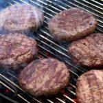 calories in beef burgers