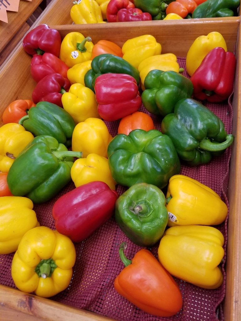 Basic Calories In Bell Pepper