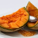 calories in muskmelon