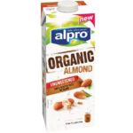 Calories in Alpro Organic Almond Unsweetened