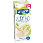 Calories in Alpro Unroasted Almond Unsweetened