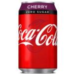 Calories in Coca-Cola Zero Sugar Cherry