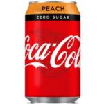 Calories in Coca-Cola Zero Sugar Peach