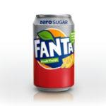 Calories in Fanta Fruit Twist Zero Sugar