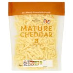Calories in Morrisons Mature Cheddar 3 Strength