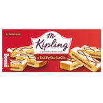 Calories in Mr Kipling Bakewell Slices