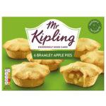 Calories in Mr Kipling Bramley Apple Pies