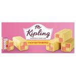 Calories in Mr Kipling Mini Battenbergs