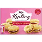 Calories in Mr Kipling Viennese Whirls