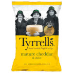 Calories in Tyrrells Mature Cheddar & Chive
