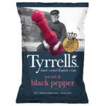 Calories in Tyrrells Sea Salt & Black Pepper