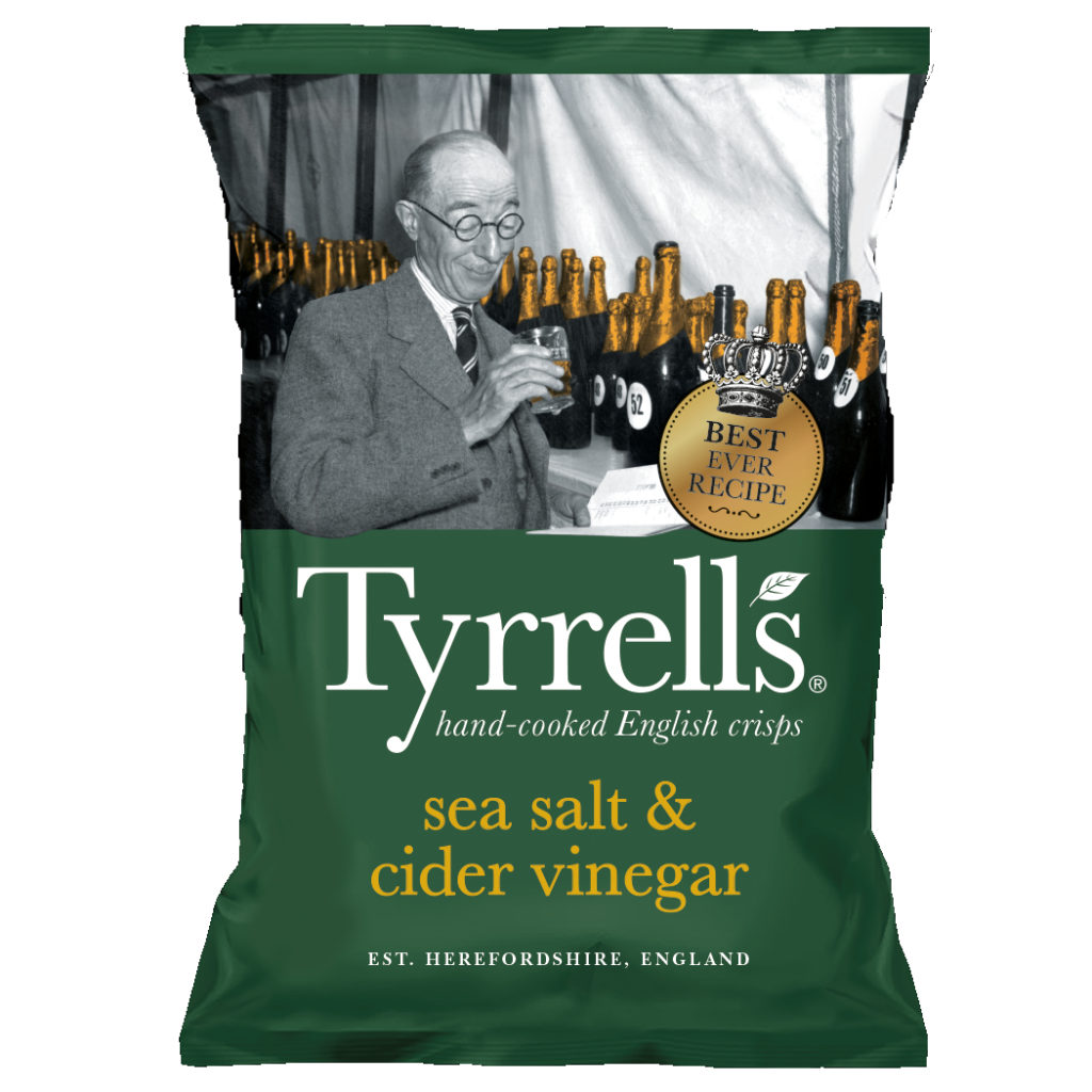 Calories In Tyrrells Sea Salt Cider Vinegar