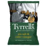 Calories in Tyrrells Sea Salt & Cider Vinegar