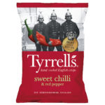 Calories in Tyrrells Sweet Chilli & Red Pepper