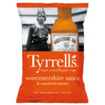 Calories in Tyrrells Worcestershire Sauce & Sundried Tomato