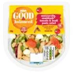 Calories in Asda Good & Balanced Mozzarella, Sunblush Tomato & Basil Pasta Salad
