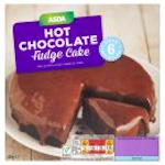 Calories in Asda Hot Chocolate Fudge Cake