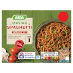 Calories in Asda Italian Spaghetti Bolognese