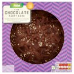 Calories in Asda Mega Chocolate Party Cake