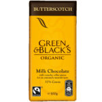 Calories in Green & Black's Organic Butterscotch Milk Chocolate