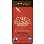 Calories in Green & Black's Organic Maya Gold Dark Chocolate