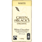 Calories in Green & Black's Organic White Chocolate