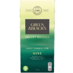 Calories in Green & Black's Velvet Edition Dark Chocolate Mint