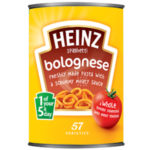 Calories in Heinz Spaghetti Bolognese