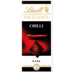 Calories in Lindt Excellence Chilli Dark