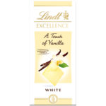 Calories in Lindt Excellence a Touch of Vanilla White
