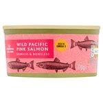Calories in Morrisons Wild Pacific Pink Salmon Skinless & Boneless