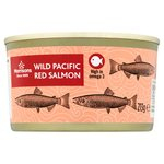 Calories in Morrisons Wild Pacific Red Salmon