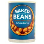 Calories in Sainsbury's Baked Beans