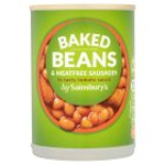 Calories in Sainsbury's Baked Beans & Meatfree Sausages
