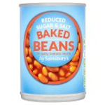 Calories in Sainsbury's Reduced Sugar & Salt Baked Beans