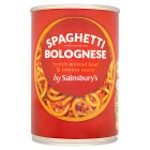 Sainsbury's Spaghetti Bolognese in Rich Minced Beef & Tomato Sauce