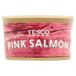 Calories in Tesco Wild Pacific Pink Salmon
