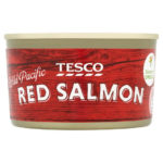 Calories in Tesco Wild Pacific Red Salmon
