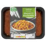 Calories in Waitrose Italian Spaghetti Bolognese