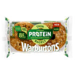 Calories in Warburtons Seeded Protein Thin Bagels