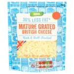Calories in Asda 30% Less Fat Mature Grated British Cheese Rich & Full-Bodied