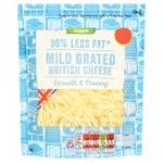 Calories in Asda 30% Less Fat Mild Grated British Cheese Smooth & Creamy