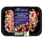 Calories in Asda Extra Special Coldwater Prawns Cooked & Peeled