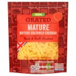 Calories in Asda Grated Mature British Coloured Cheddar Rich & Full-Bodied