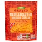 Calories in Asda Grated Red Leicester British Cheese Sweet & Nutty