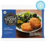 Calories in Hearty Food Co. 10 Cod Fish Cakes