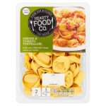 Calories in Hearty Food Co. Cheese & Tomato Tortelloni