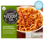 Calories in Hearty Food Co. Spaghetti Bolognese