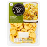 Calories in Hearty Food Co. Spinach & Ricotta Tortelloni